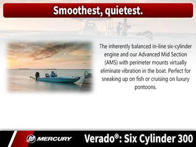 2018 Mercury Marine® Verado® Six Cylinder 300 HP Base | Club Royale